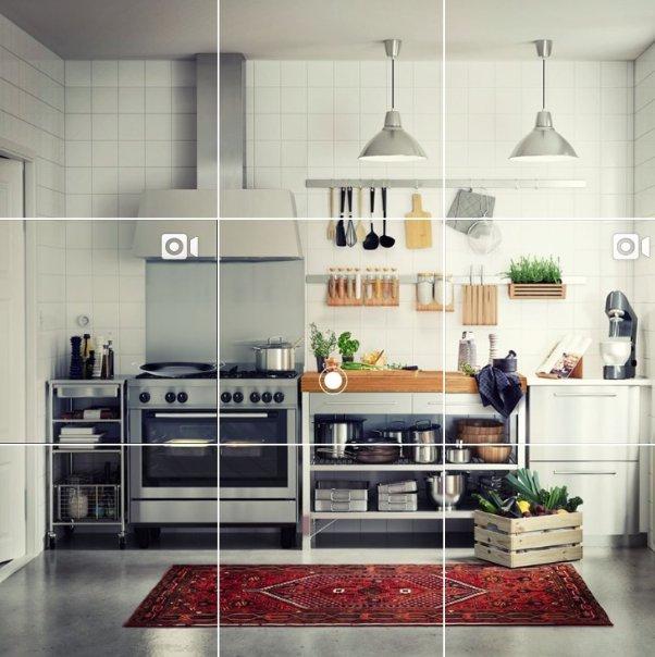 instragram piso ikea cocina