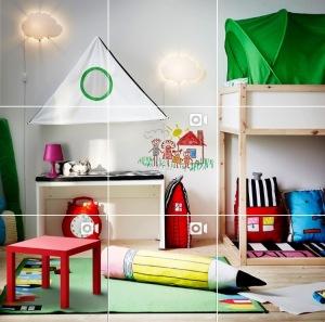 instragram piso ikea dormitorio infantil