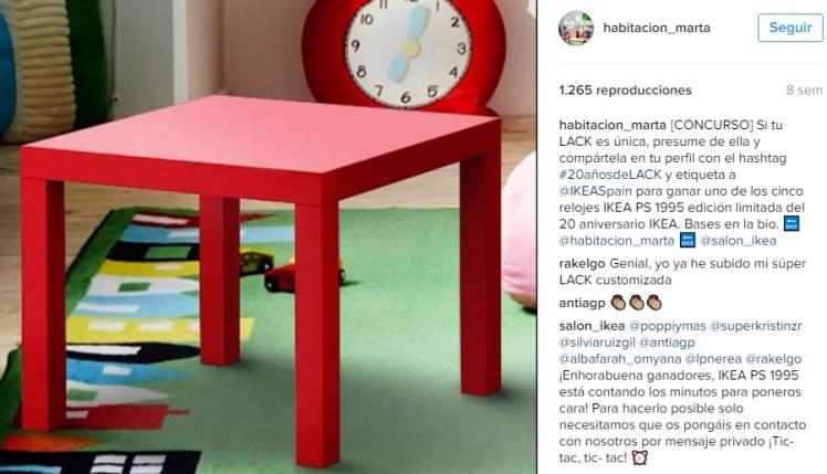 instagram piso ikea concurso
