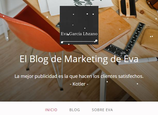 Portada Blog de Marketing de Eva
