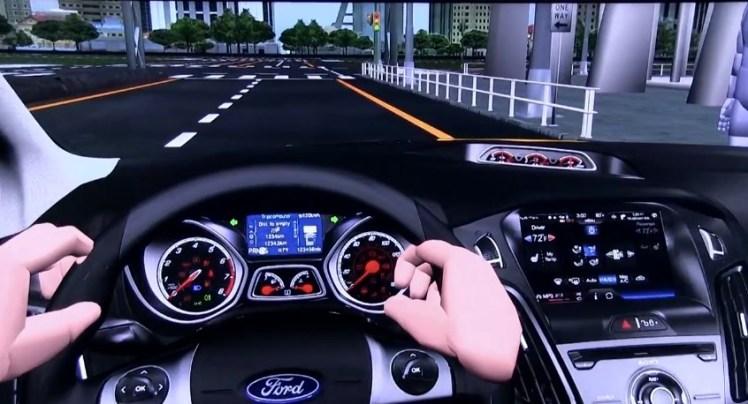 Realidad virtual para probar coches